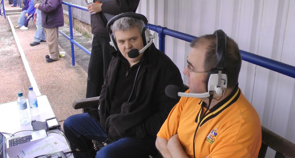 Commentary at Eastbourne Town
